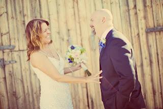 Reveal at Matt and Heather's wedding at Sagecliffe