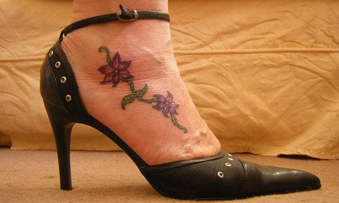 1887tattoos small flower tattoos. Black Bedroom Furniture Sets. Home Design Ideas