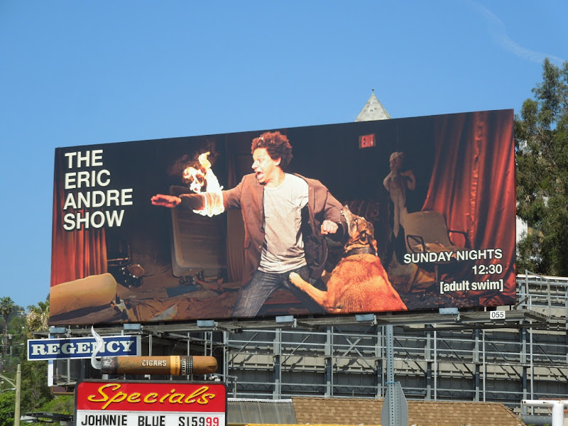 Eric Andre Show Adult Swim billboard