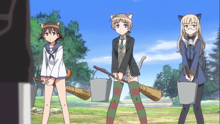 Things to do in los angeles strike witches season two review panty