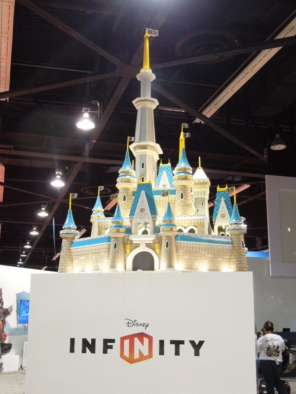 Disney Infinity castle D23 Expo
