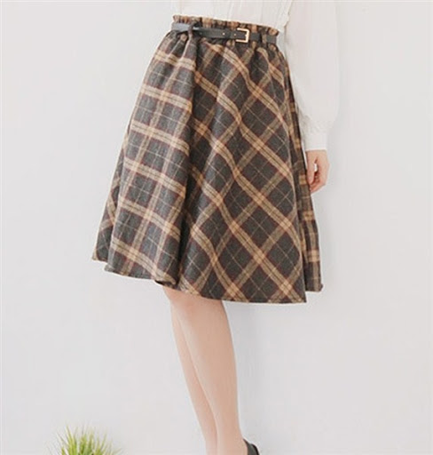 Fashionable and stylish high waisted skirts for trends 2015/2016