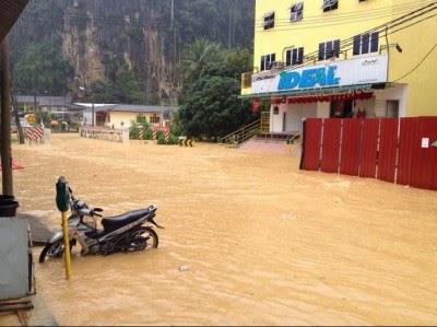 Fenomena  'New Moon' Punca Banjir Luar Biasa Di Pantai Timur Terkini