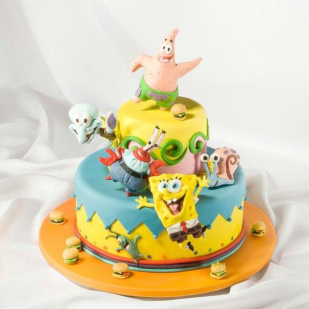 Детские торты на заказ в спб фото