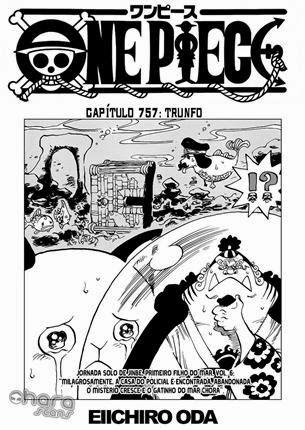 One Piece Mangá 757 Português