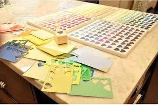 membuat hiasan dinding dari kertas ( macam macam kerajinan tangan