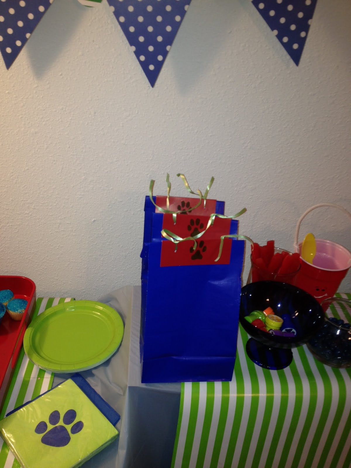 Blues Clues Budget Birthday Party