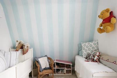 Marine raye bleu et blanc Papiers peints • PIXERS  - Papier Peint Rayé Bleu Marine Et Blanc