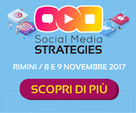 Sarò Media Partner di #SMStrategies