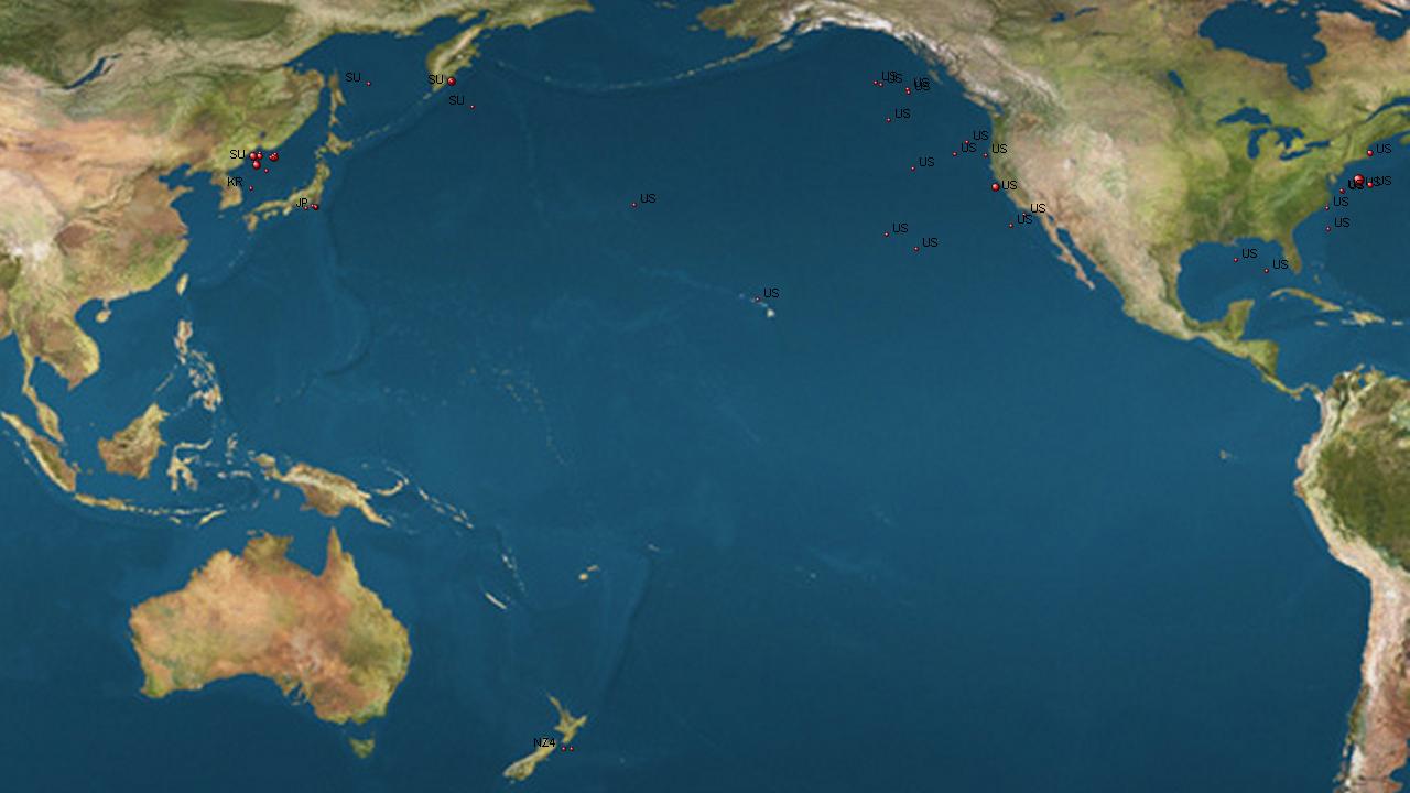 TOP TEN BIGGEST OCEANS AND SEAS OF THE WORLD Toptenlist - Biggest ocean in the world