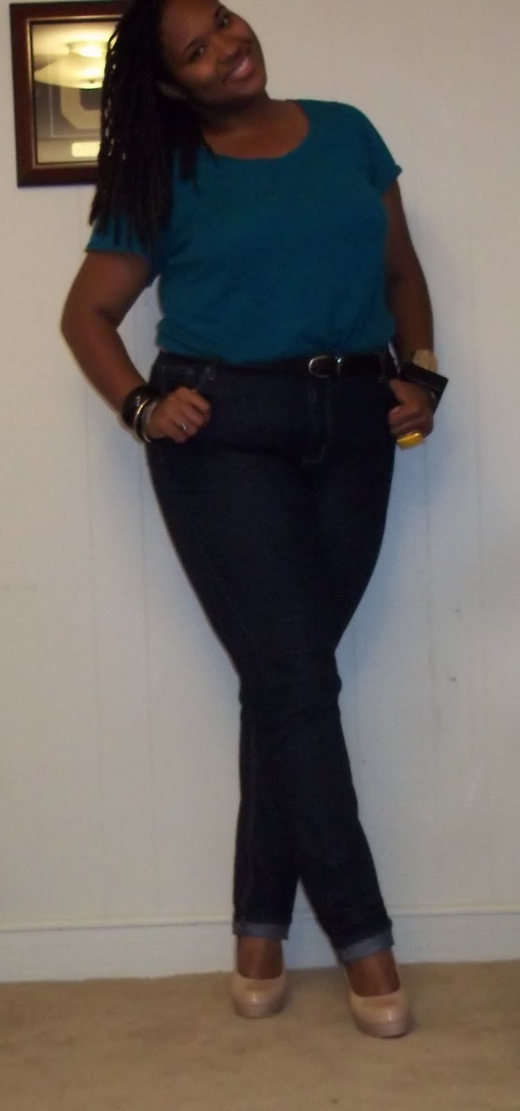 Belts skinny jeans and tucked in shirts a thick girl 39 s for Tucked in shirt plus size