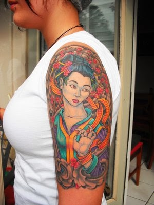 Girls Tattoo Sleeve Designs