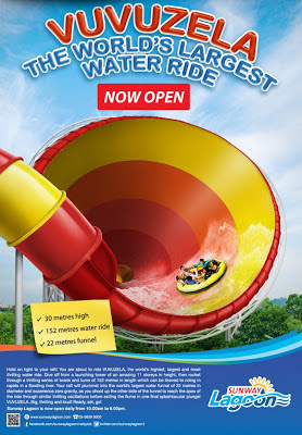 Vuvuzela Sunway Lagoon poster