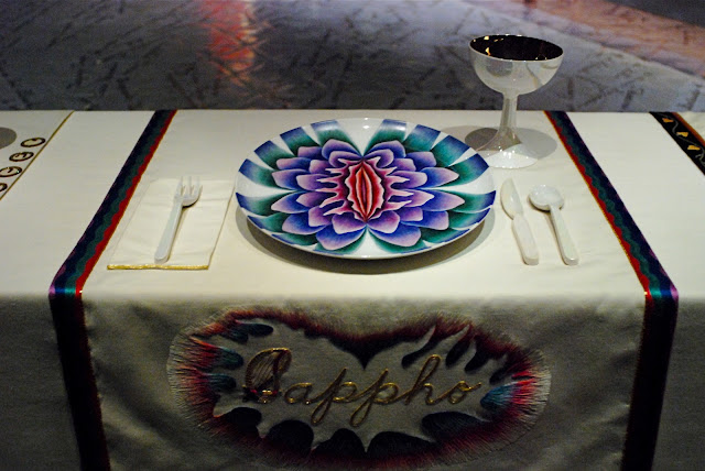 Nyc Nyc Judy Chicago S Quot The Dinner Party Quot An Icon Of