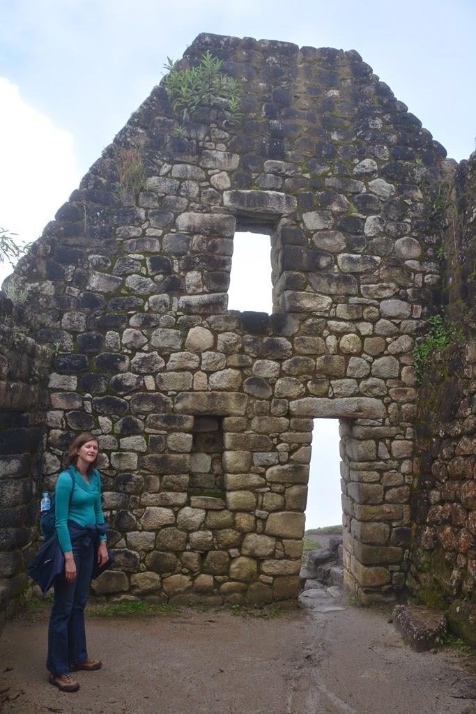 Waynapicchu ruins