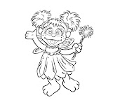 #9 Abby Cadabby Coloring Page