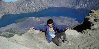 wisata danau segara anak di lombok