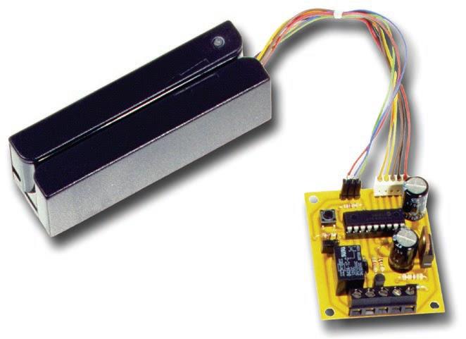 Une serrure lectronique cartes magn tiques schema for Materiel pour crocheter une serrure