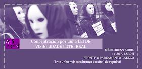 Actos lei IN-visibilidade LGTBI galega