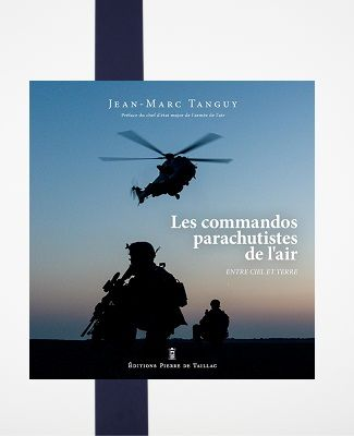 Mon livre sur les commandos parachutistes de l'air