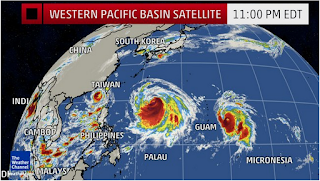 5 possible tropical typhoons back to back