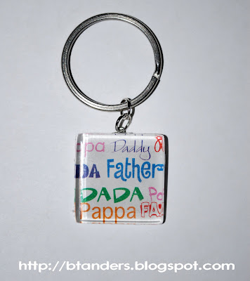 Dad Key Chain
