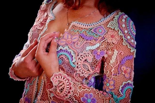Ирландское кружево платья аси вертен