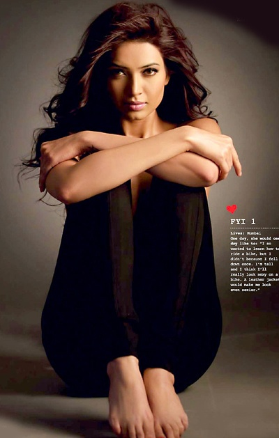 ... Karishma Tanna in her first ever hot photoshoot that too with FHM