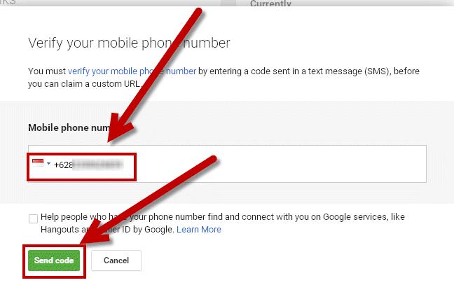bagaimana cara merubah alamat URL googleplus
