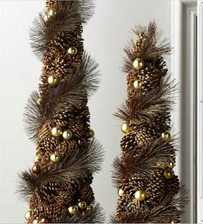 10 Ideas de Decoracion de Navidad con Piñas de Pino, V Parte