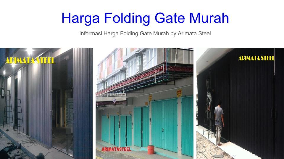 Folding Gate-Harga Folding Gate