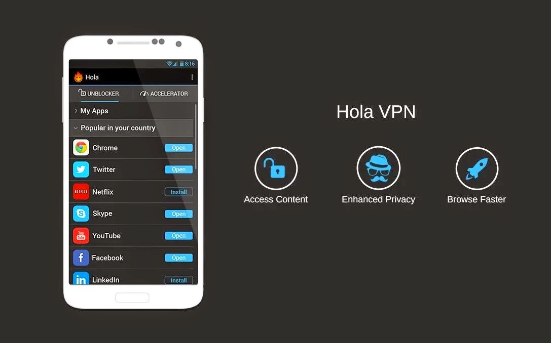 Hola Better Internet vARM5_1.4.623