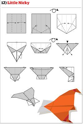 бумажный самолетик 19