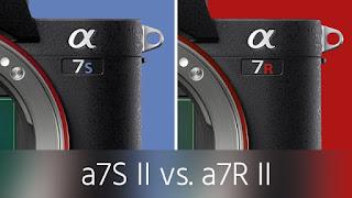 A7R II vs Sony A7S II