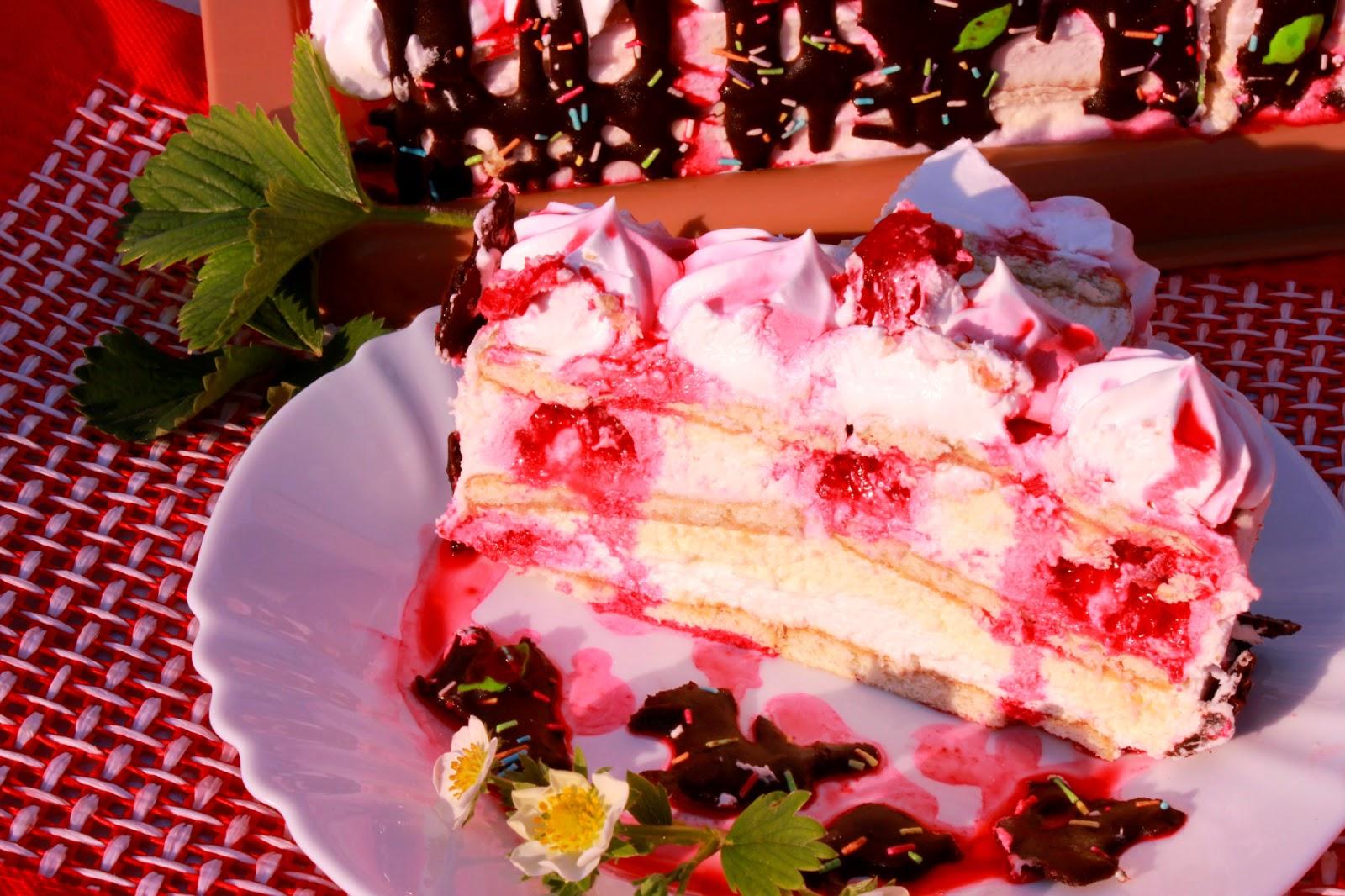 Torta s malinama / Video