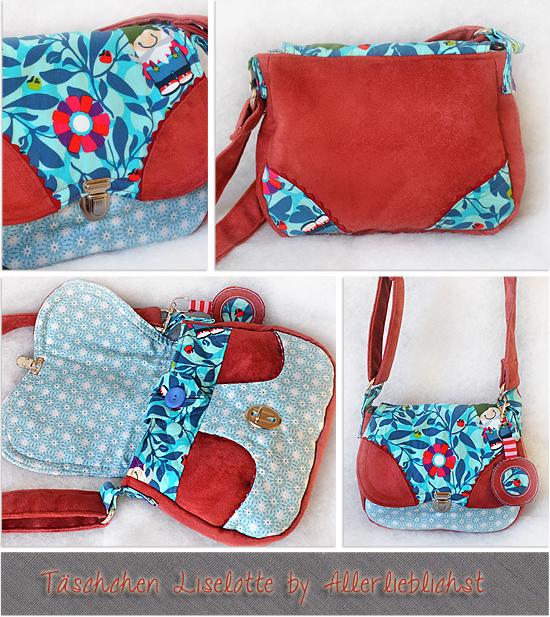 Taschen Liselotte by Allerlieblichst