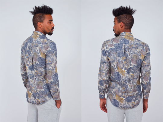 Marble Flowers Shirt, T Shirt style, Men Style