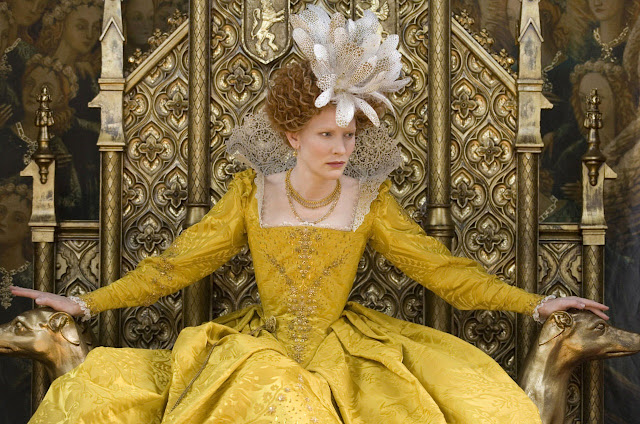 Queen Elizabeth,elizabeth the golden age,golden dres