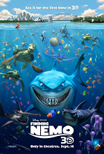 finding nemo - sea it for the first time in 3d
