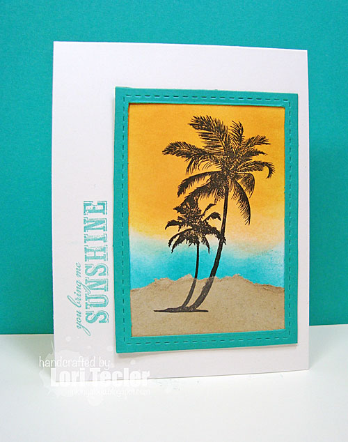You Bring Me Sunshine card-designed by Lori Tecler/Inking Aloud-stamps from Waltzingmouse Stamps
