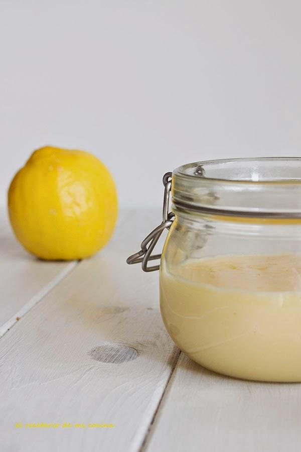 crema de limón lemon curd
