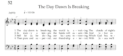 Hymn The Day Dawn Is Breaking