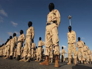 The first batallion of the elite force of the « New Libya » - Libyans in service of the colonisation of their own country.
