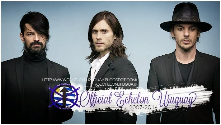 OFFICIAL ECHELON URUGUAY - THIRTY SECONDS TO MARS -
