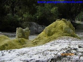 montañas de azufre