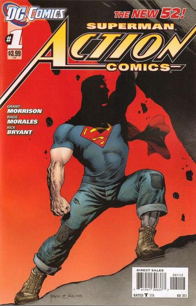 Frankenstein Demon Warriors Action Comics The Best Of New DC 52 Part 1