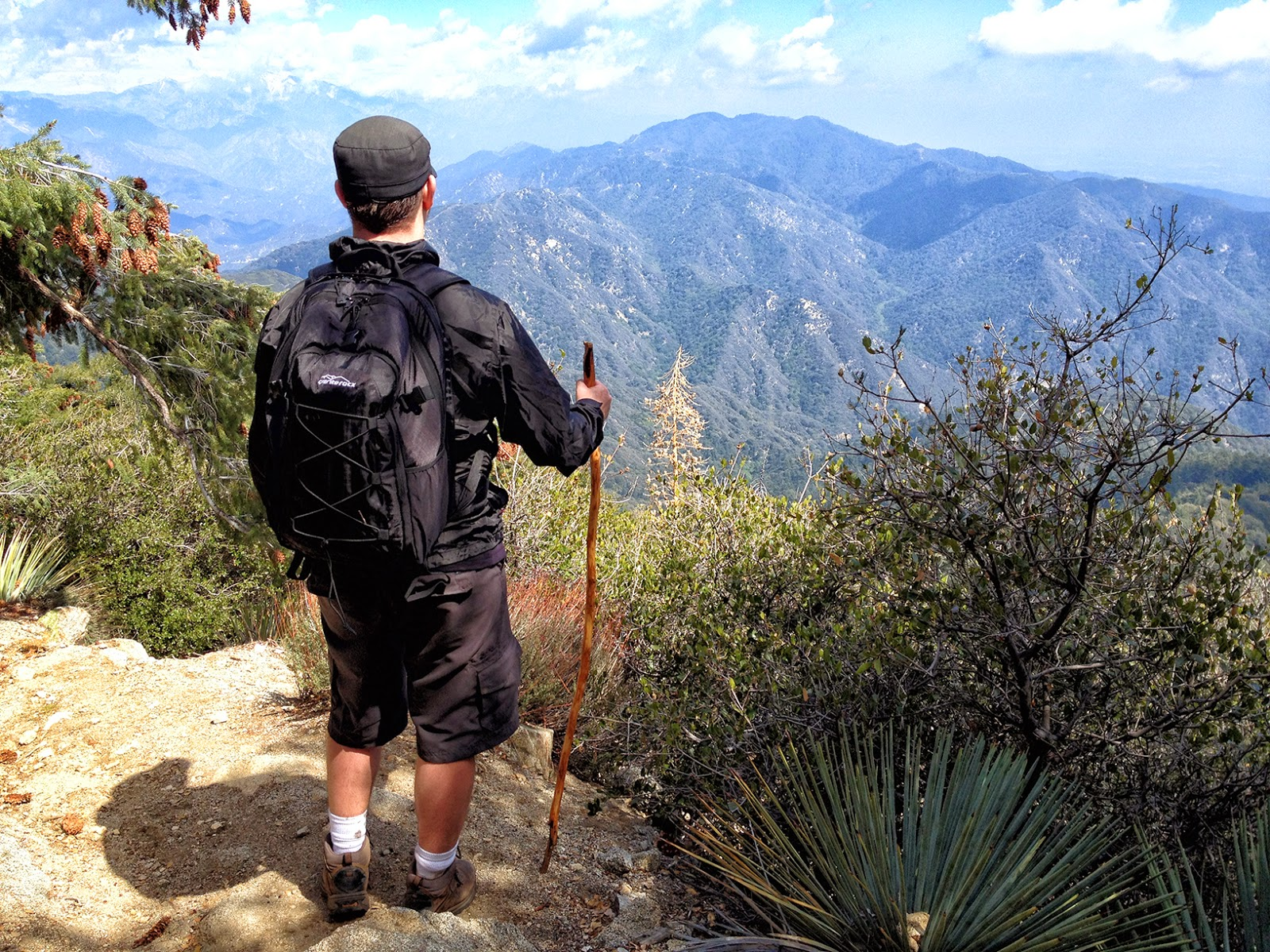 Hiking from Chantry Flats to Mount Wilson ~ Adventures in Southern on