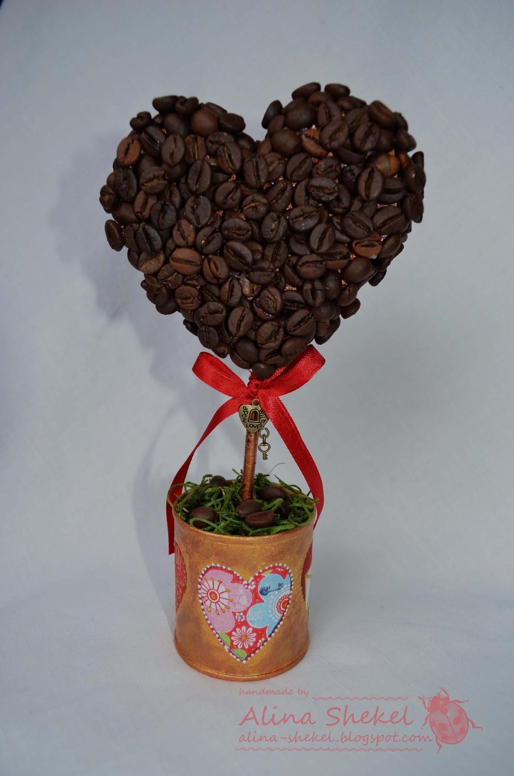 Кофейное дерево своими руками пошаговая инструкция фото