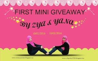 Giveaway, contest, qiya, saad