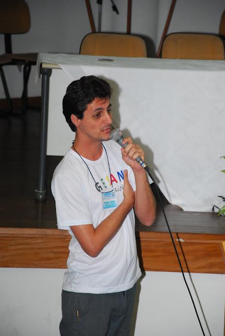 Prof. Marcelo no I Painel de SAN de Vila Velha - Out/2010